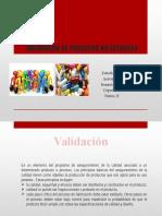 Validacion de Procesos No Esteriles