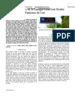 investigación acerca del uso de leds para generar voltaje