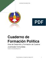 Cuaderno de Formación Política 2011 JJCC