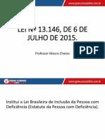 Lei 3156 de 2015 - Estatuto PCD