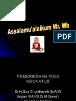 PEMERIKSAAN FISIS NEONATUS