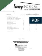 Disney Solo's for Clarinet & Tenor Sax (Bb).pdf