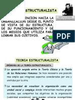 Exposicion 11.Teoria Estructuralista