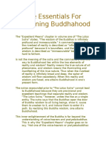 The Essentials for Attaining Buddhahood