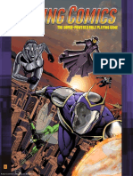 DAR1100 Daring Comics Roleplaying Game