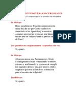 RENOVACIÓN PROMESAS SACERDOTALES