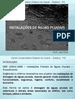 Instalacoes de Aguas Pluviais