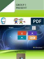 Presentation Group 3