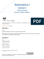 Unidad 3 - Determinantes Parte C