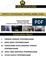 Inspeksi Penyanggaan Tambang Bawah Tanah_10April2012.ppt