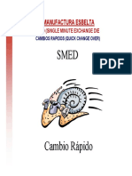 SMED Single Minute Exchange Die