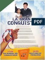 Afiche La Gran Conquista