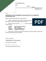 Surat Jemputan Penceramah Mt