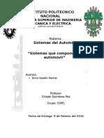 Sitemas Del Automovil