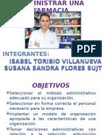 Administrar Una Farmacia