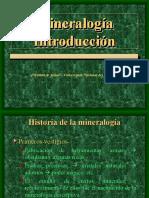 Mineralogía-Historia, Definiciones