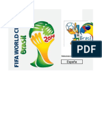 Fixture Del Mundial 2014 en Excel