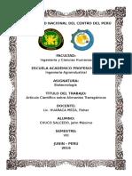 Alimentos transgenicos (Articulo cientifico).docx