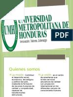 UMH EN HONDURAS