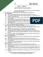 06 Social Science History Key Notes Ch08 Ashoka the Emperor Who Gave Up War