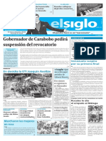 Edición Impresa Elsiglo 17-10-2016
