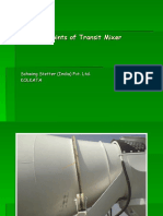 Greasing Points of Transit Mixer
