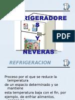 Refrigerador y Nevera