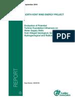 Golder Report Sept 23 16 FINAL Evaluation of Geo North Kent