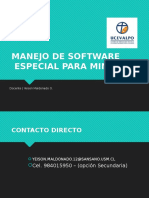 Manejo de Software