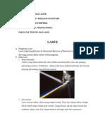 Tugas Teknologi Laser