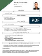 Curriculo de Christopher Silva Dos Santos Criado Em 27-09-16 as 22-09-56 Guia Universobr