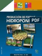 Producción de Forraje Hidropónico