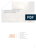 Seven Consideratons for 2016 Webdesign