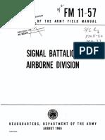 FM 11-57 - Signal Battalion Airborne Division