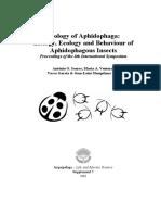 Ecology of Aphidophaga8