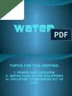 Water - Report