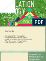 Population Ecology, Demecology