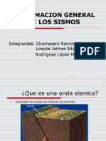 disertacion sismos