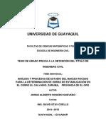 Tesis Jorge Alberto Rosero Quevedo - Universidad de Guayaquil - Ingeniería Civil