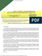 Ácido Ascórbico  Ingesta y Recomendaciones Para La Práctica de Actividad Físico