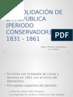 Periodo Conservador 1831 - 1861