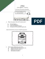 Paper 2 (Questions) - Section a,B,C & D