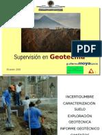 Supervisión en Geotecnia