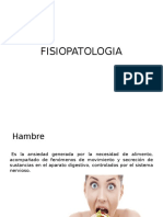 FISIOPATOLOGIA - OBESIDAD