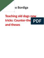 Amadeo Bordiga, 'Teaching Old Dogs New Tricks