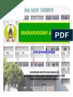 Materi 2 Fetal Echocardiography Dr. Judi ESpOG2