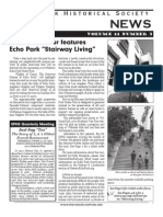 Fall 2007 Echo Park Historical Society News