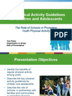 Youth Pa Guidelines Schools