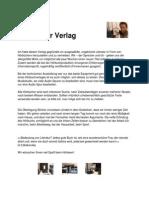 Peter Eder Verlag - Fragen Und Antworten (10.06.2010)