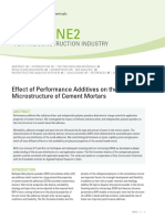 Effect of Performance Additives on The